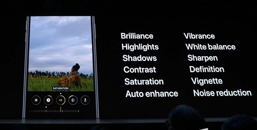 Fotoaparát iOS 13