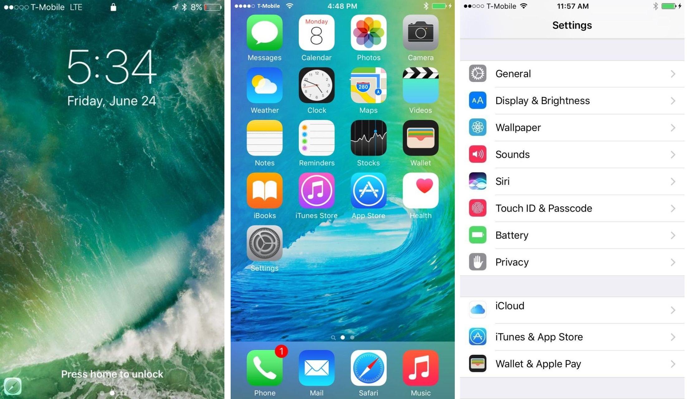 Grafické rozhraní iOS