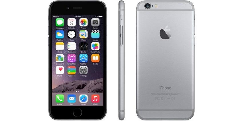 iPhone 6, šedý