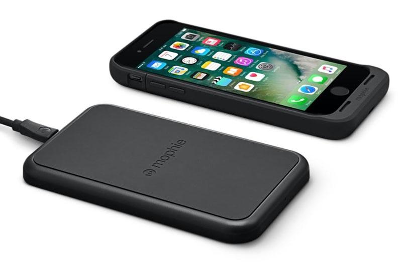 iPhone 7; bezdrátové nabíjení