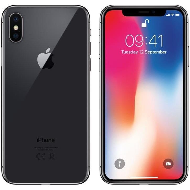 iPhone X, černý