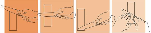 Jak nabrousit nůž