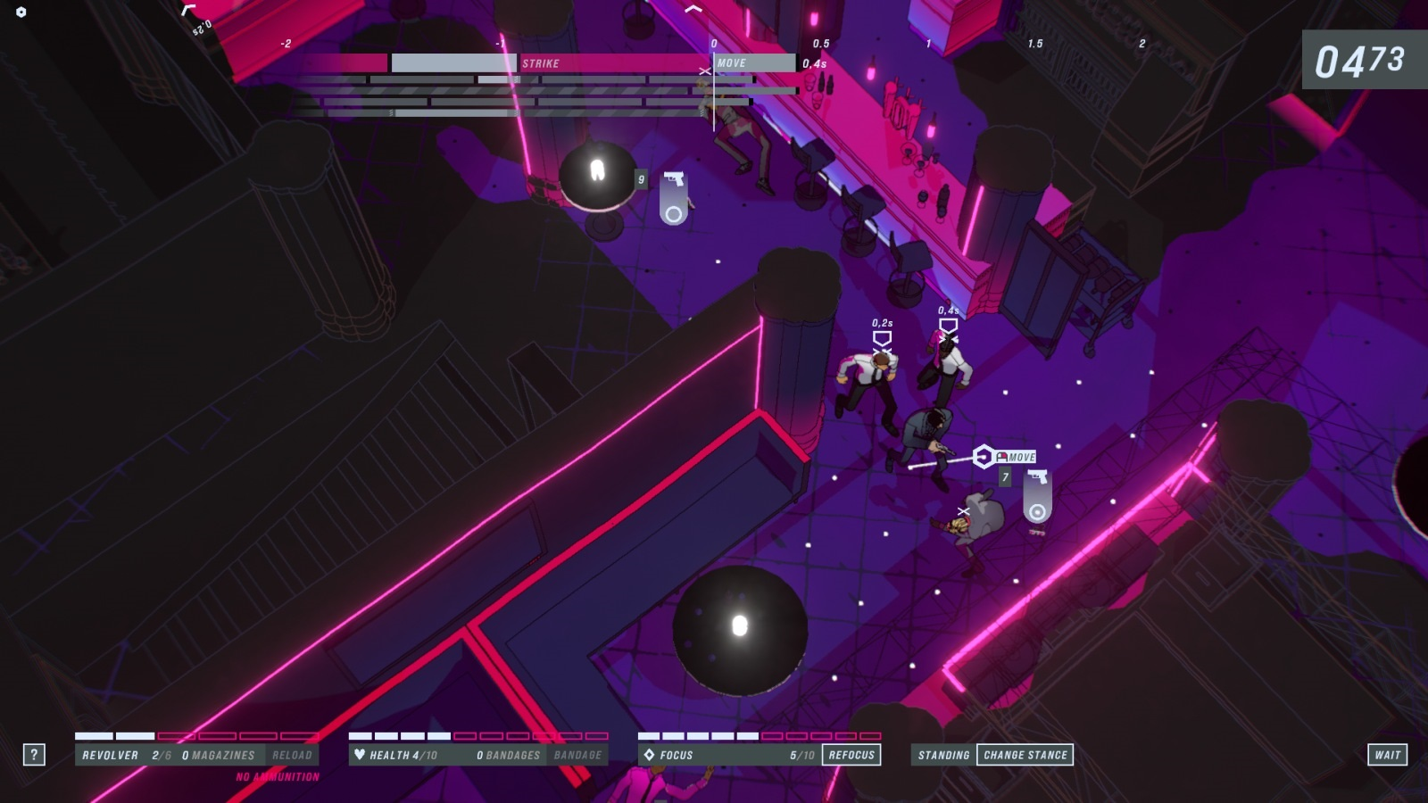 John Wick Hex; gameplay: trojka