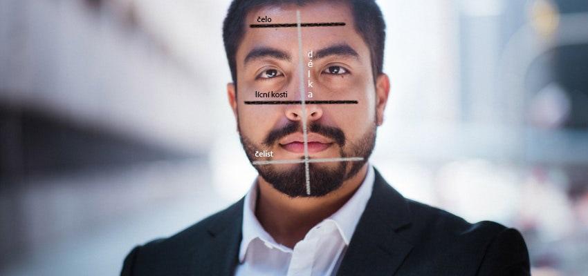 Měření proporcí tváře