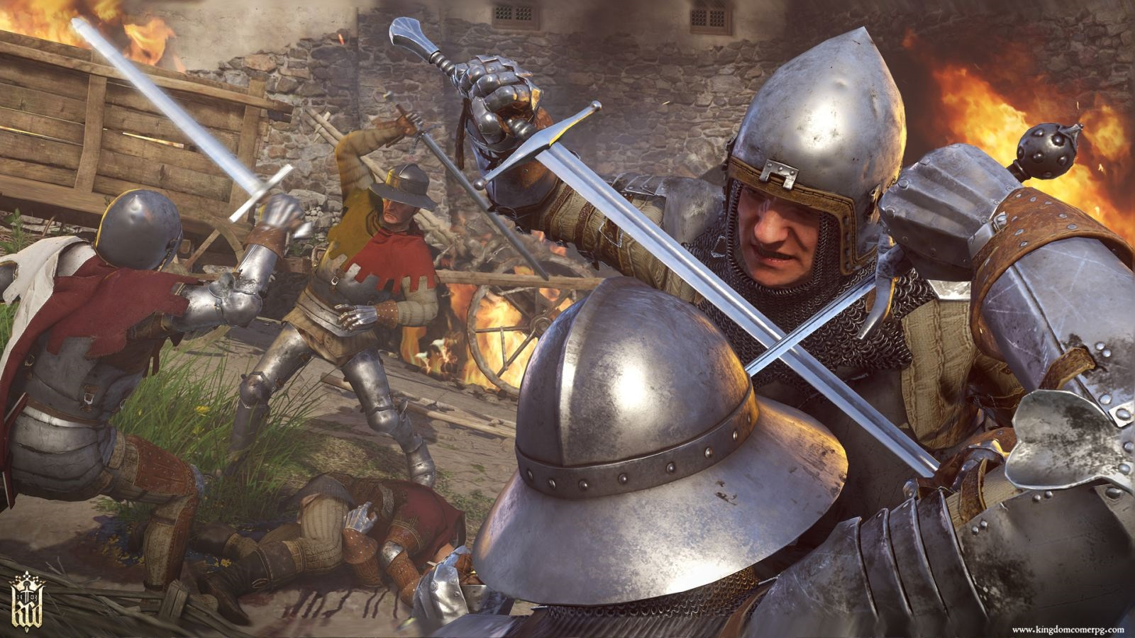 Kingdom Come: Deliverance – Band of Bastards; screenshot: souboj