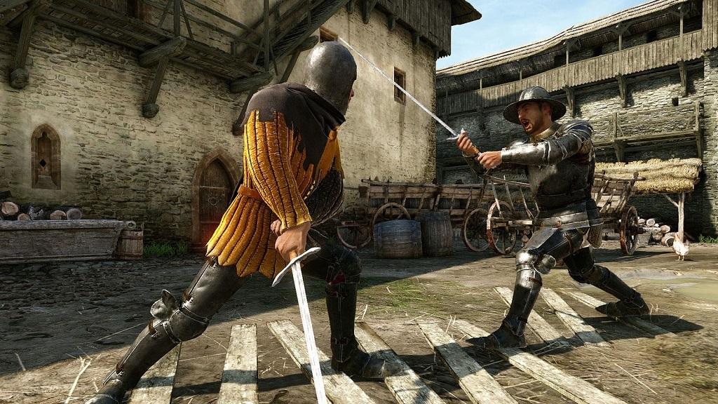 Kingdom Come: Deliverance: combat, swordplay