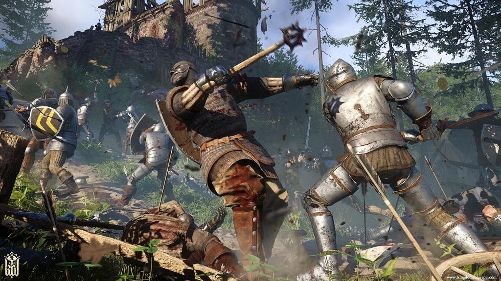Kingdom Come: Deliverance; boj, obléhání hradu