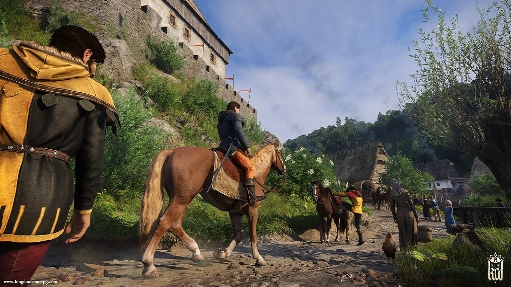 Kingdom Come: Deliverance: horseride, countryside, castle