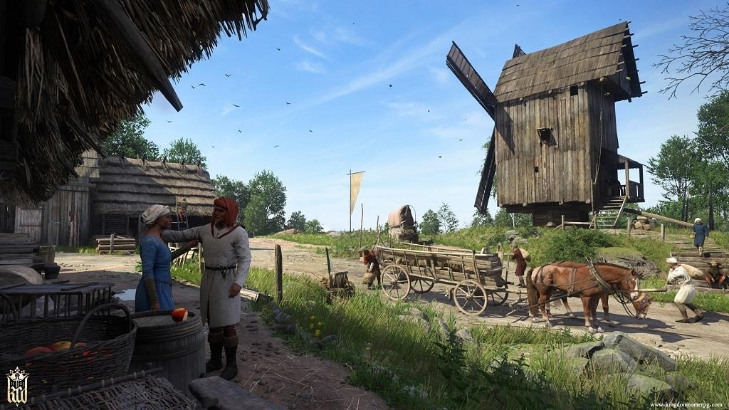 Kingdom Come: Deliverance: životní cyklus, NPC, vesnice
