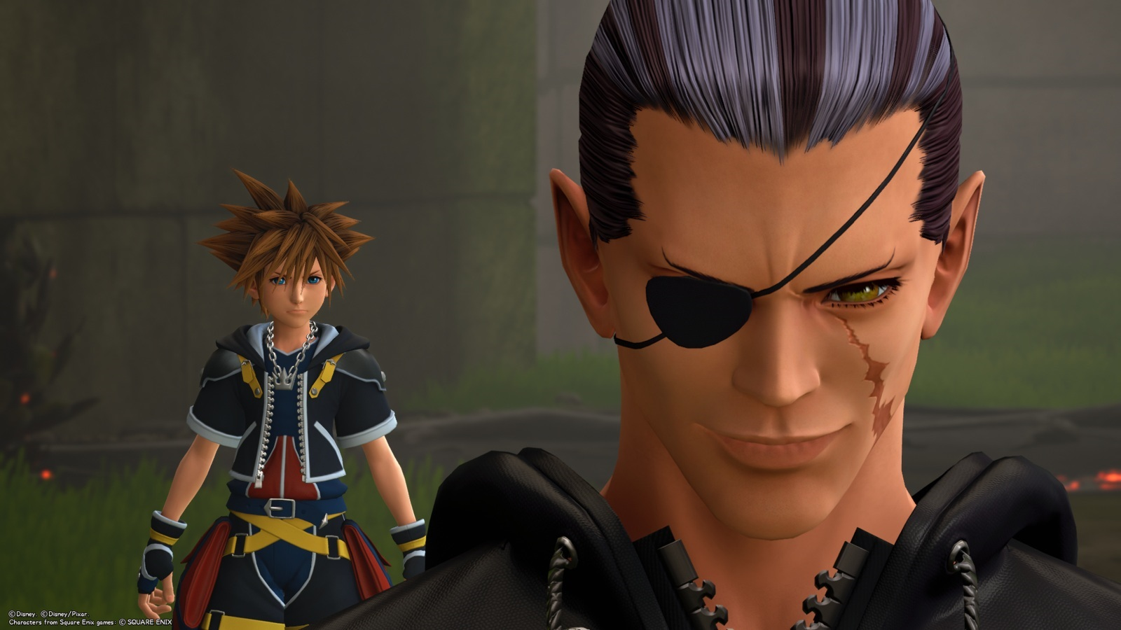 Kingdom Hearts 3; gameplay: osudovost