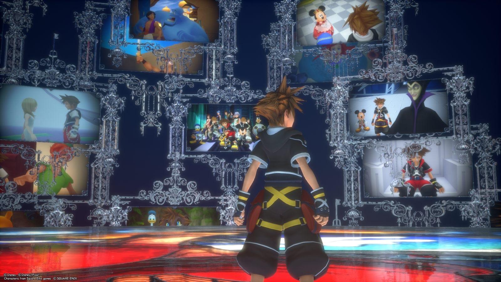 Kingdom Hearts 3; gameplay: vzpomínky