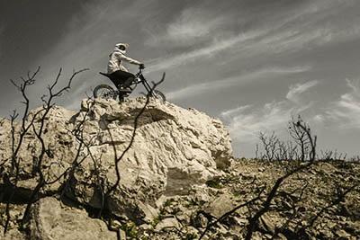 Kuberg Freerider, jízda v terénu