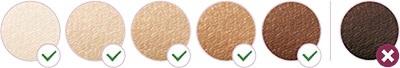 Vhodné typy pokožky pro IPL epilátor
