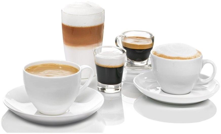 Automatické espressovače Bosch připraví mnoho druhů kávy