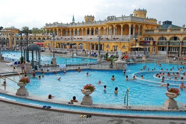 Termální lázně v Budapešti