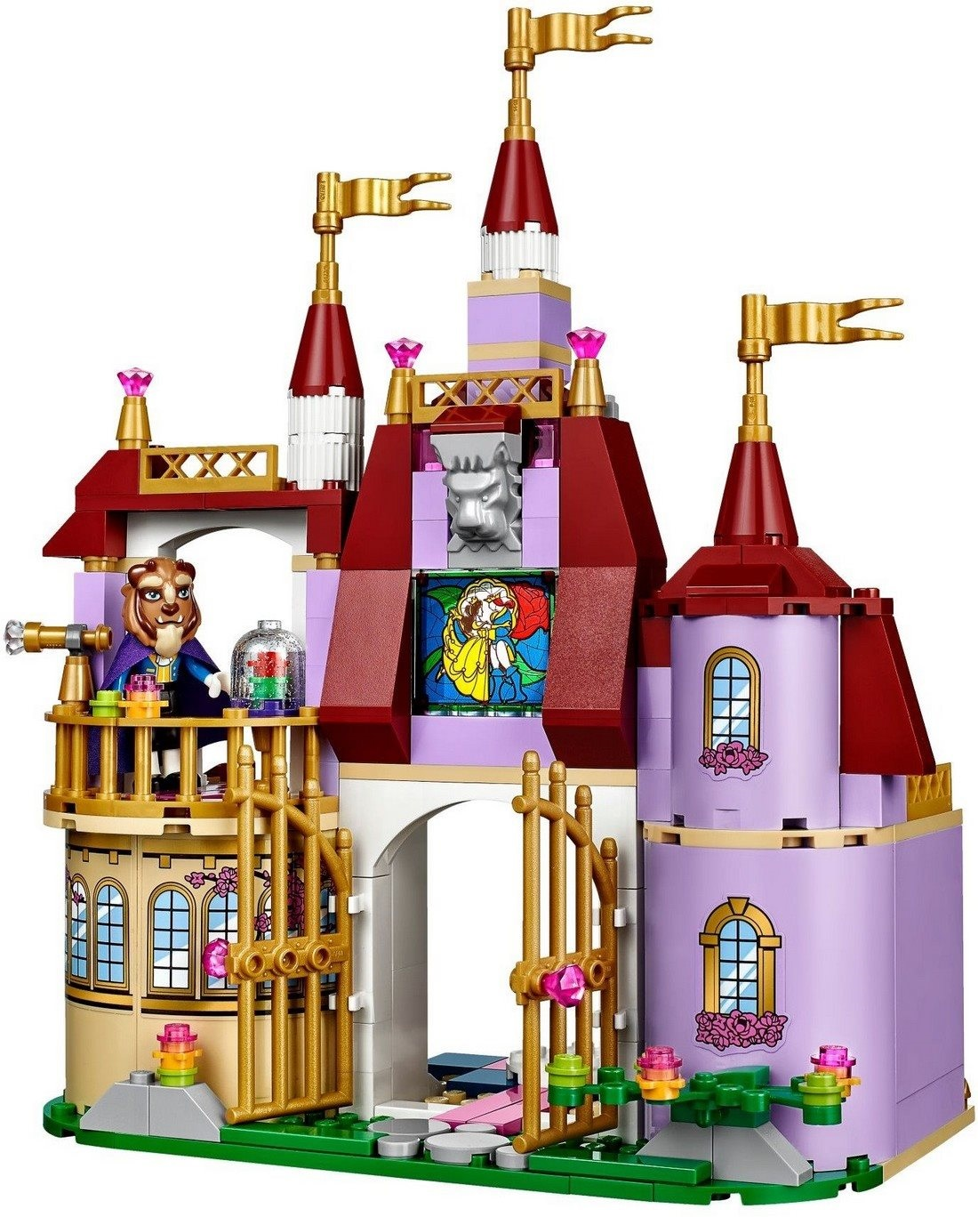 LEGO Disney Princess - Bella a kouzelný hrad