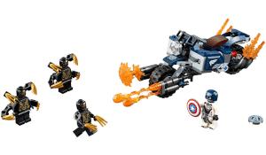 marvel lego kapitán amerika