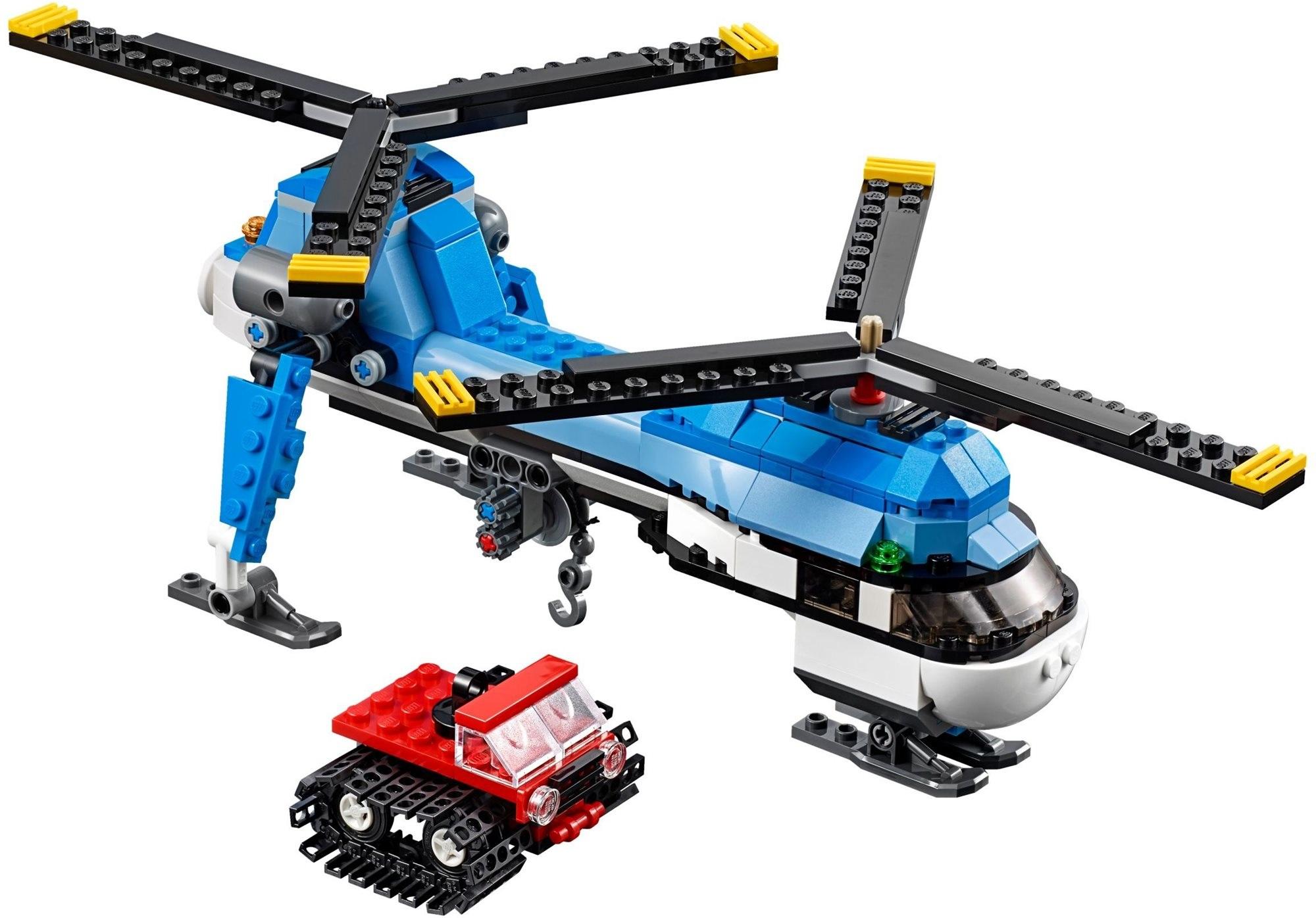 LEGO Creator - vrtulník se dvěma vrtulemi