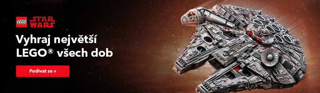 Novinky LEGO 2018 | Star Wars falcon - největší stavebnice Lego všech dob