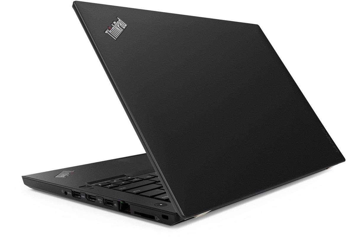 Lenovo ThinkPad T480, zezadu