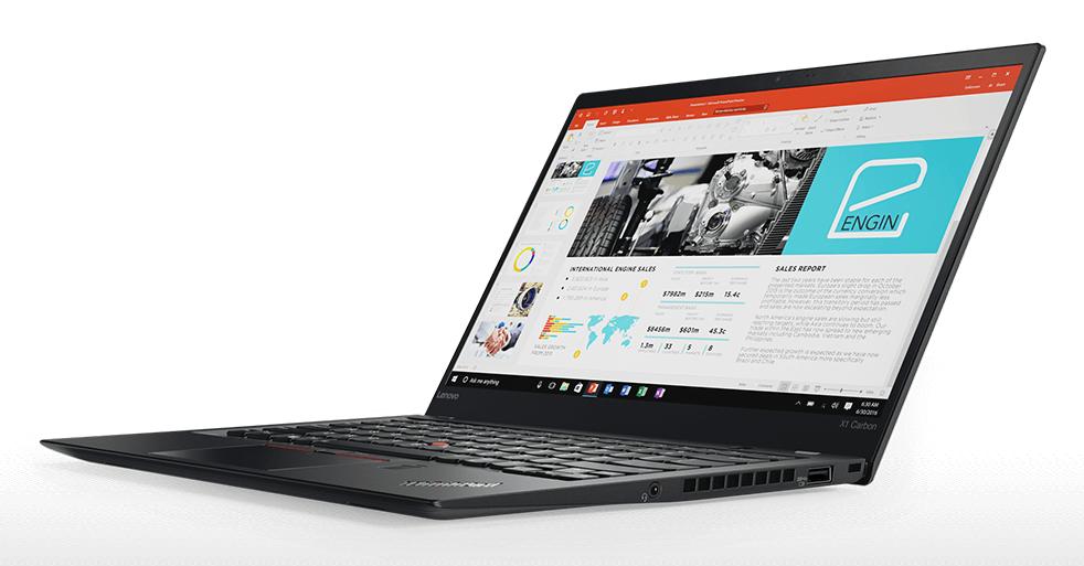 Lenovo ThinkPad X1 Carbon 5 je špičkový notebook pro náročné