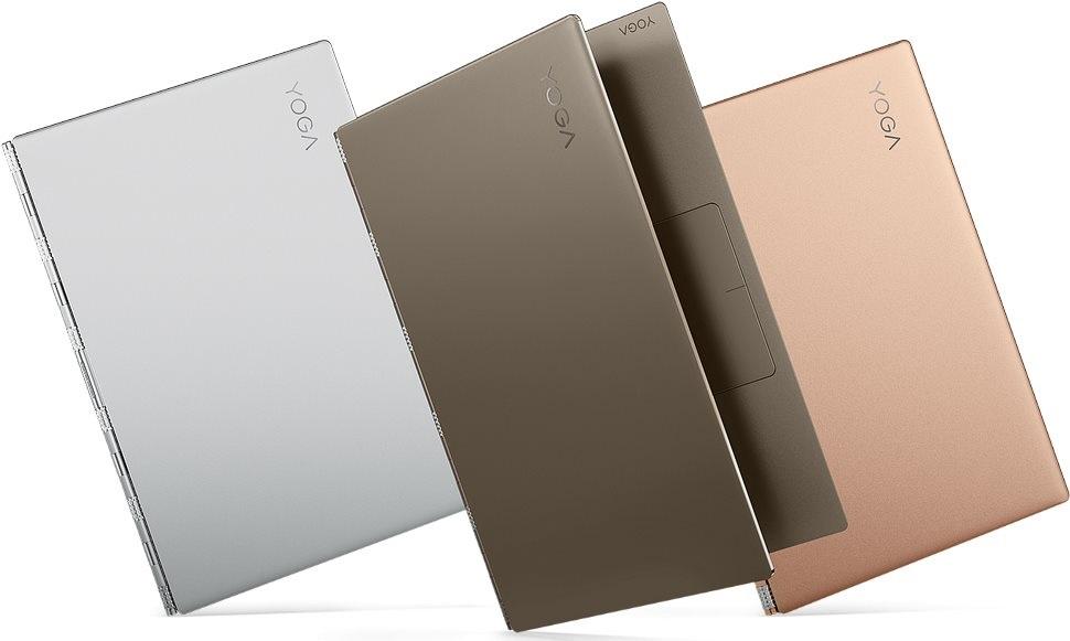 Lenovo Yoga 920, barvy