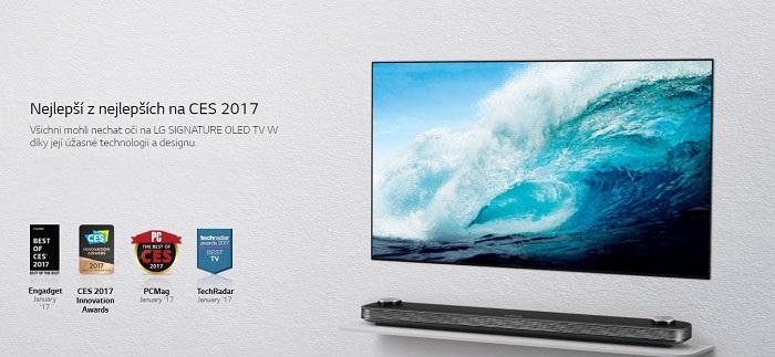 LG OLED TV Ocenění