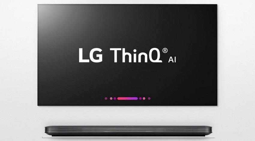 LG ThinQ, televize