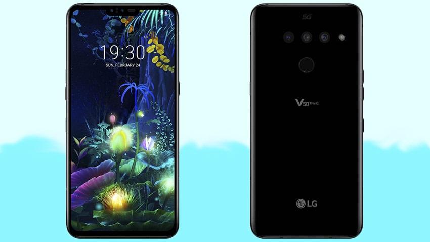 LG V50 ThinQ Design