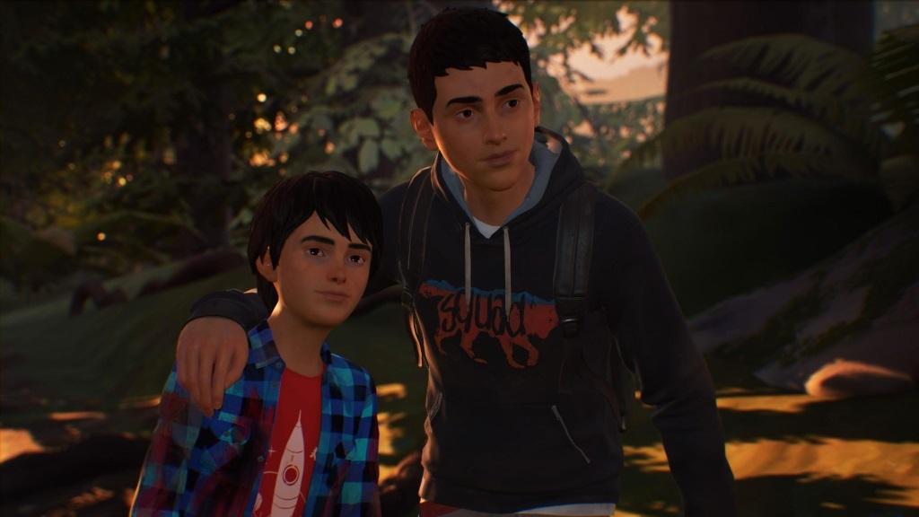 Nejočekávanější hry v září 2018; Life is Strange 2, screenshot: bráchové