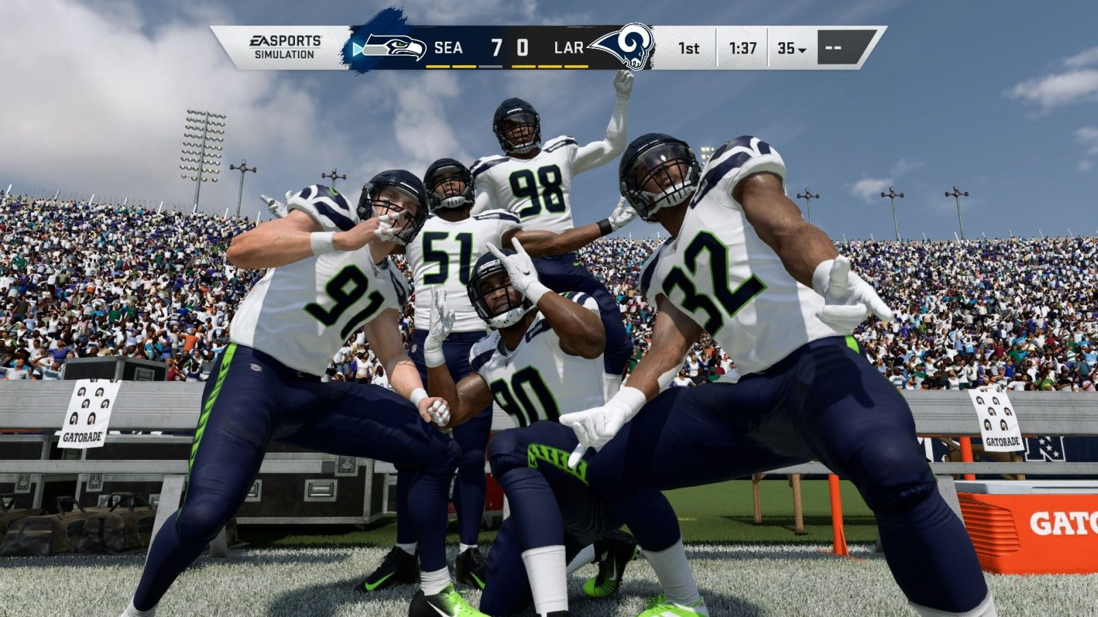 Madden NFL 20; screenshot: oslava