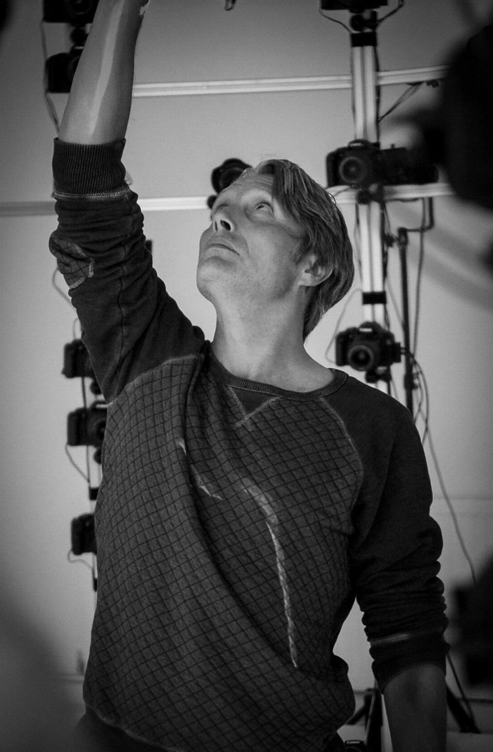 Death Stranding; screenshot: Mikkelsen motion capture