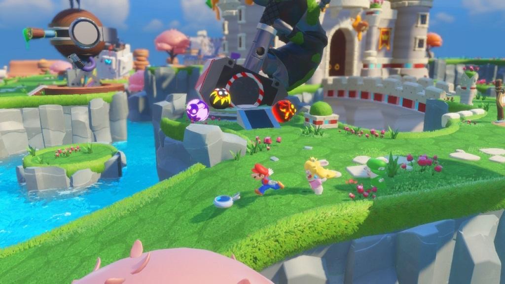 Mario + Rabbids Kingdom Battle; Gameplay: Houbičkové království