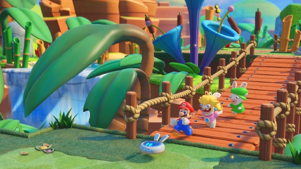Mario + Rabbids Kingdom Battle; Wallpaper: Mario a spol.