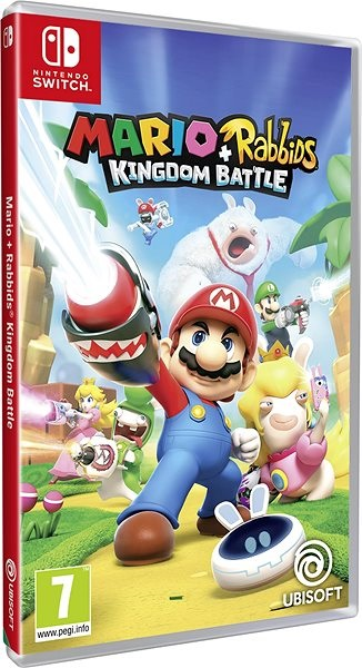 Mario + Rabbids Kingdom Battle; recenze