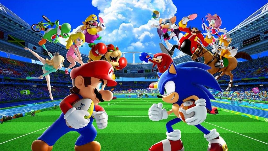Mario & Sonic at the Olympic Games: Tokyo 2020; screenshot: postavy