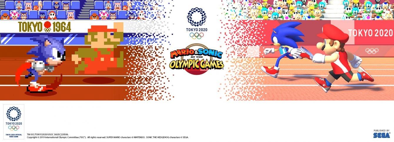 Mario & Sonic at the Olympic Games: Tokyo 2020; screenshot: retro