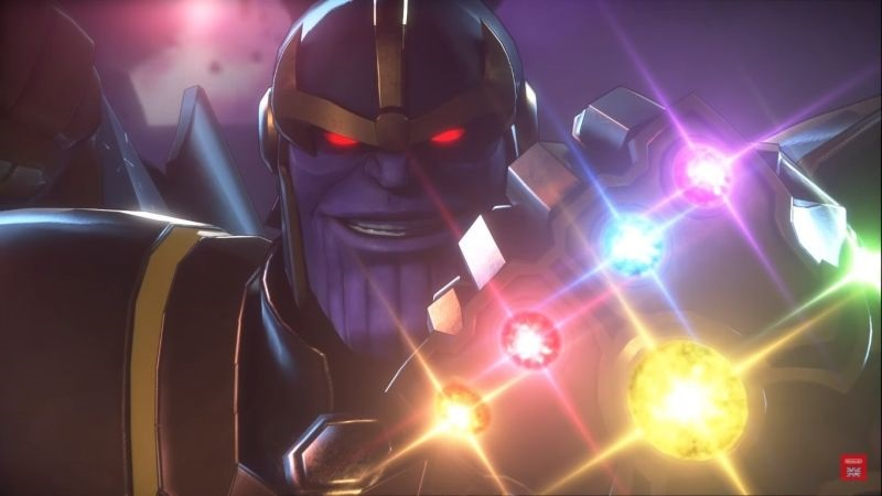Marvel Ultimate Alliance 3: The Black Order; screenshot: Thanos