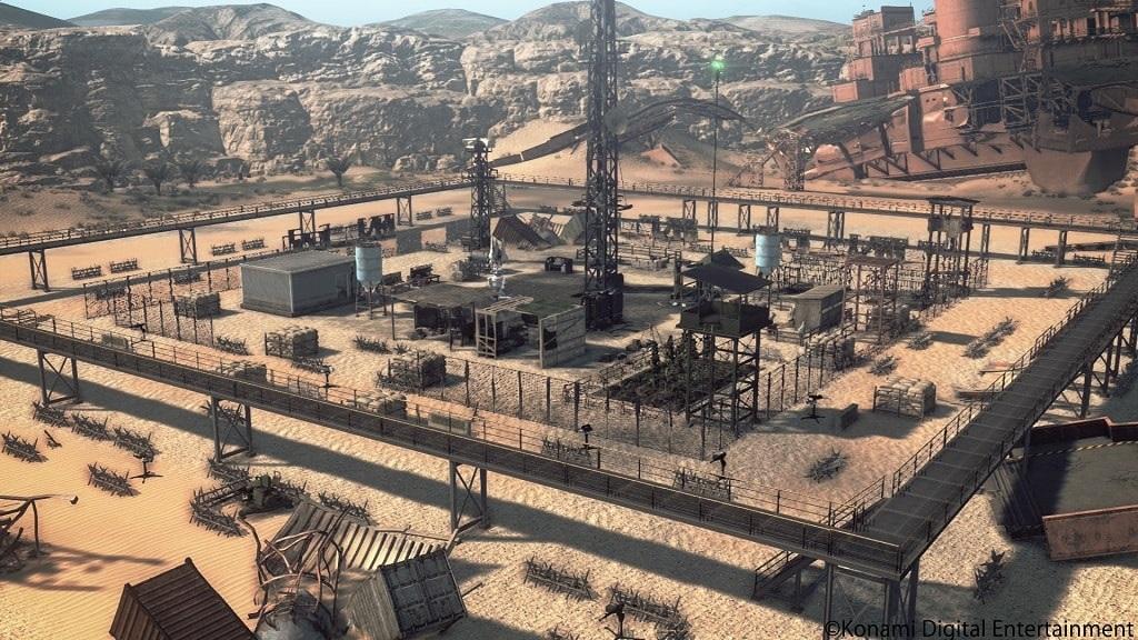 Metal Gear Survive: base building