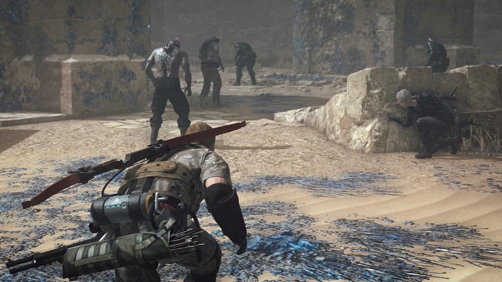 Metal Gear Survive: stealth