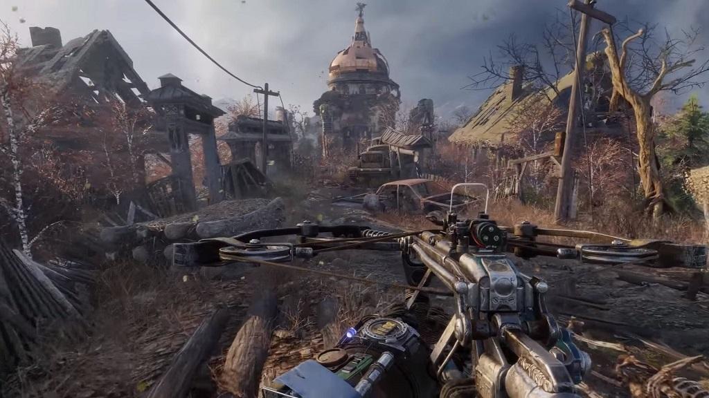 Metro Exodus; Gameplay: zbraň, kuše