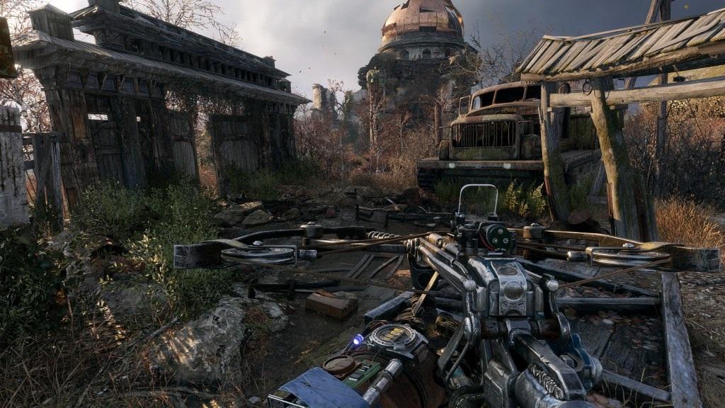 Metro Exodus; Gameplay: kuše