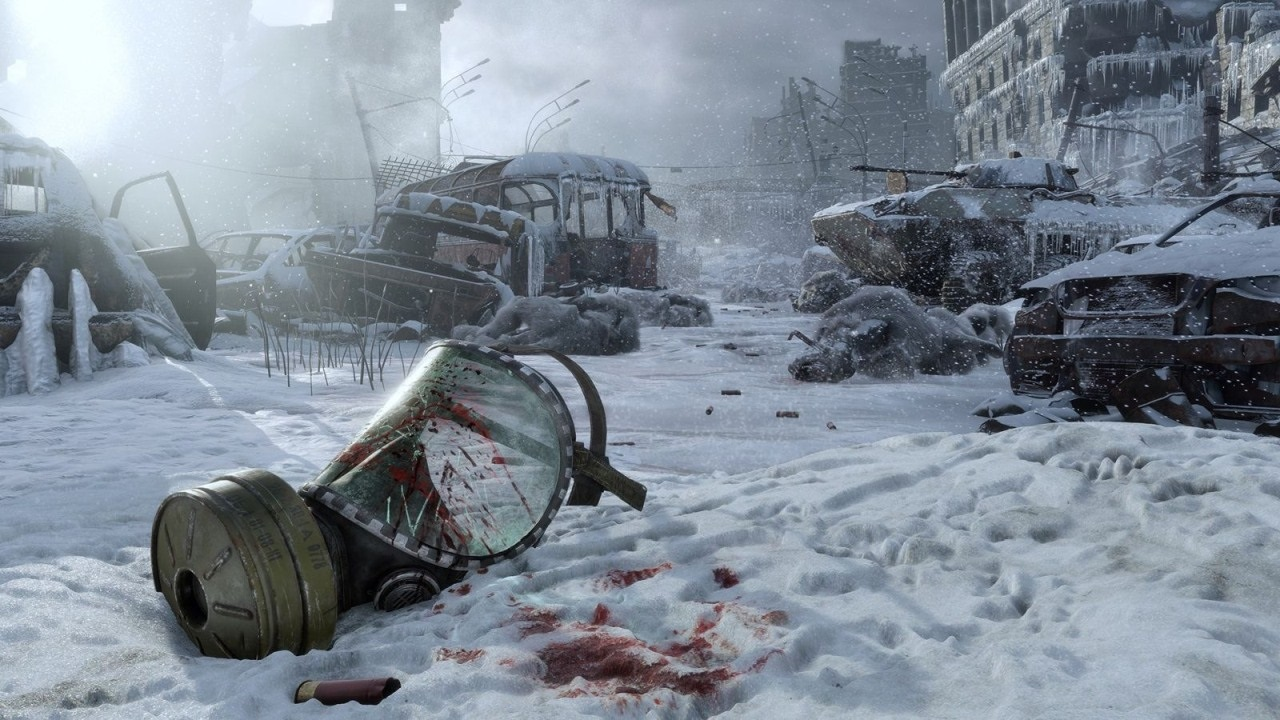 Nejočekávanější hry roku 2019; Metro Exodus, screenshot: maska