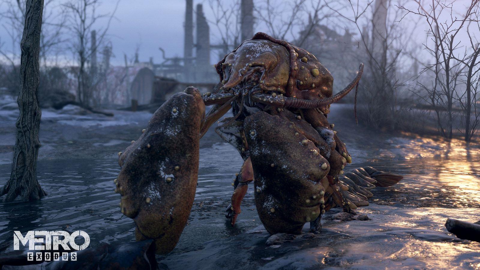 Metro Exodus; gameplay: monstrum