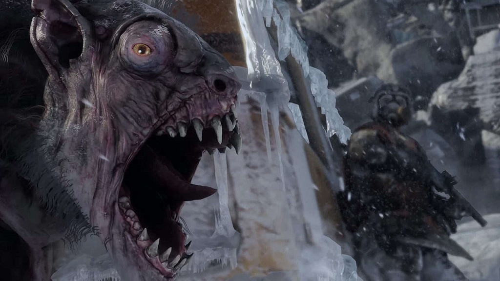 Metro Exodus; Mutant, demon