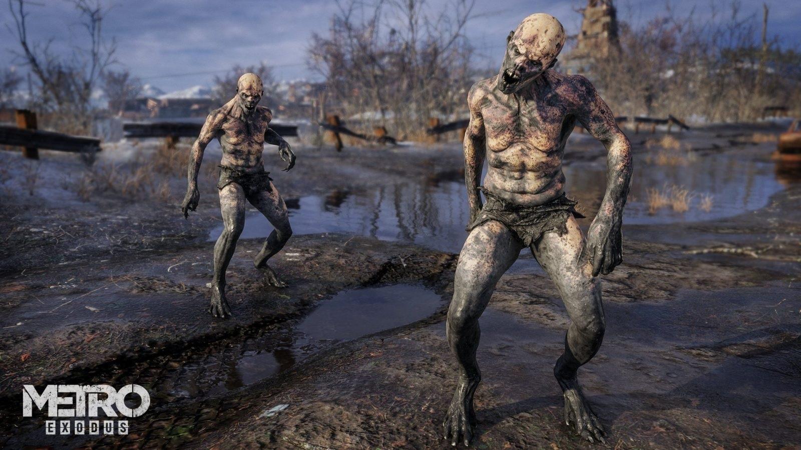 Metro Exodus; gameplay: mutant