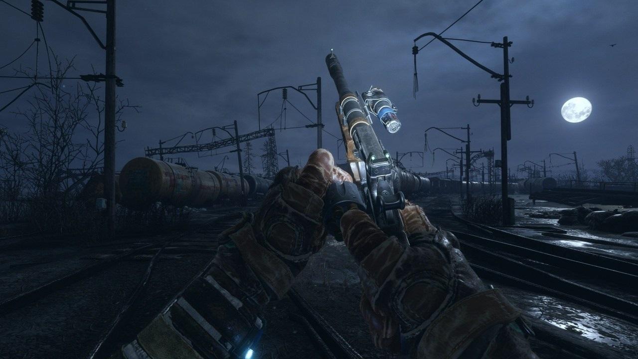 Nejočekávanější hry roku 2019; Metro Exodus, screenshot: noc