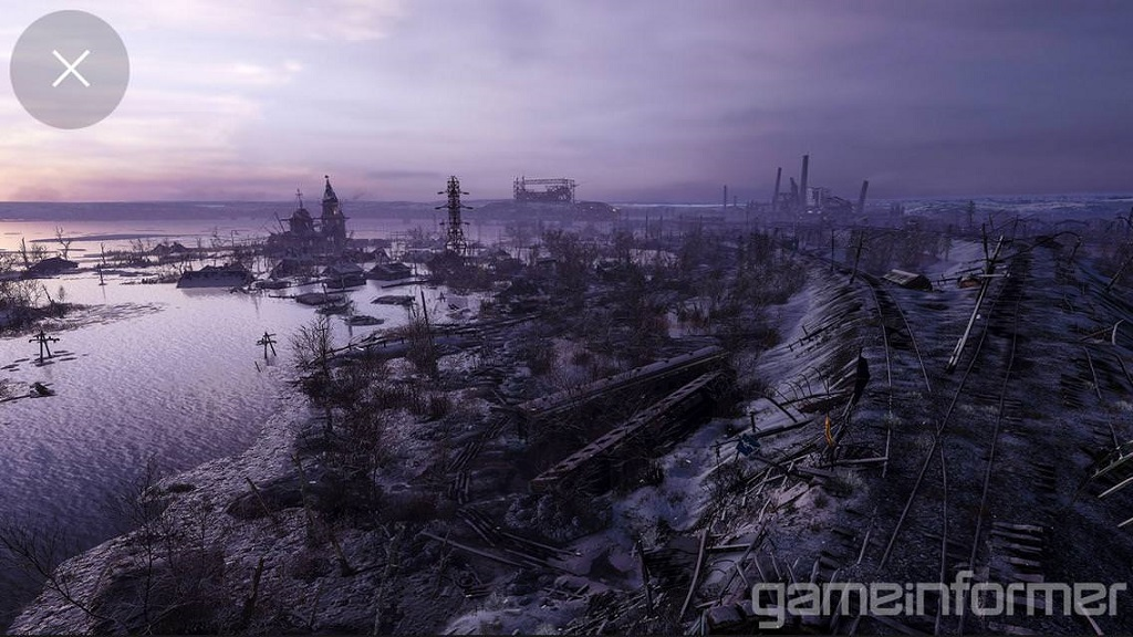 Metro Exodus; Outdoor