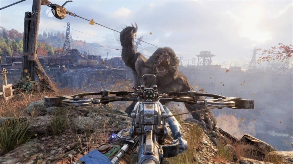 Metro: Exodus, screenshot: zvířecí nepřátelé