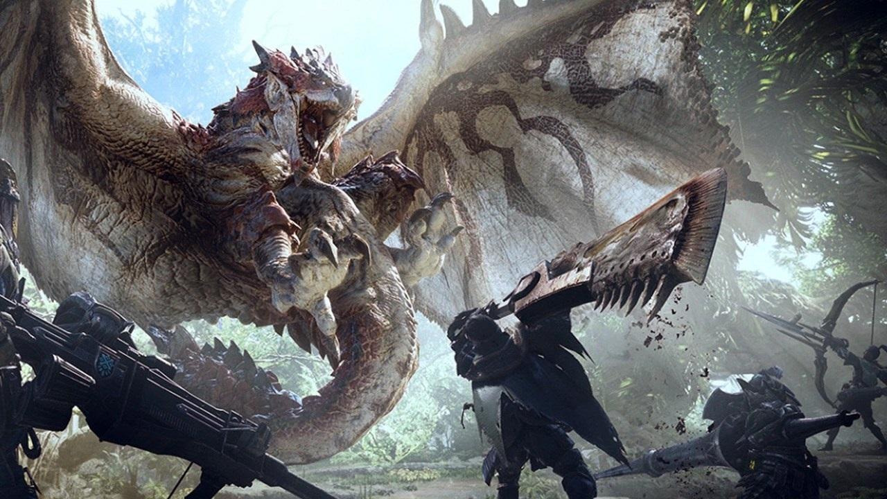 Monster Hunter: World; screenshot: cover